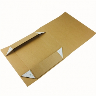 Natural Kraft Collapsible Gift Box With Magnetic Closure