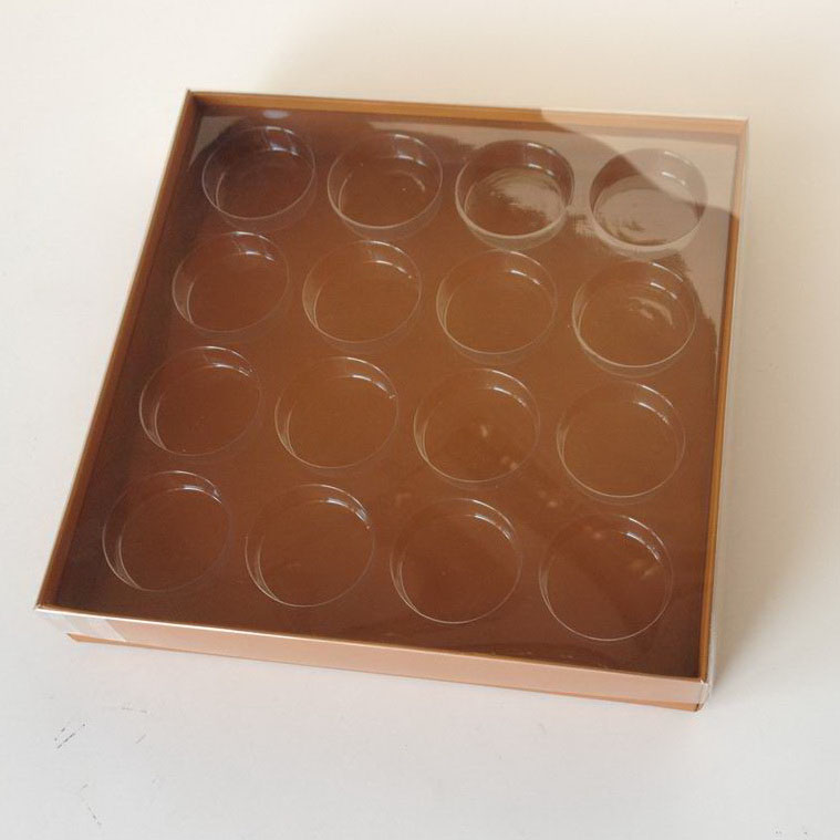 custom printed truffles candy box