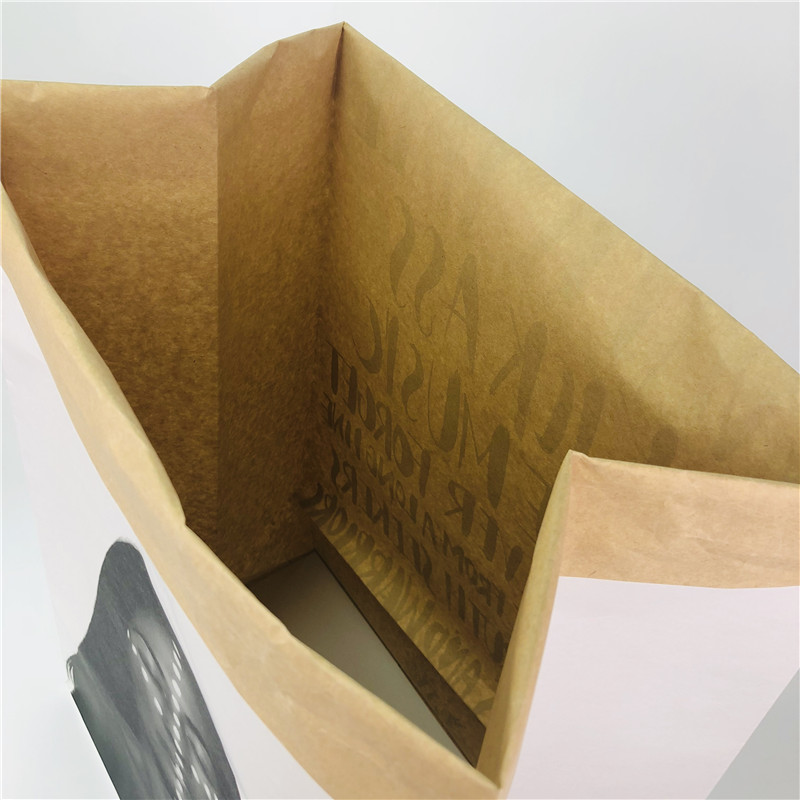 Coated Nature Kraft Paper Bag