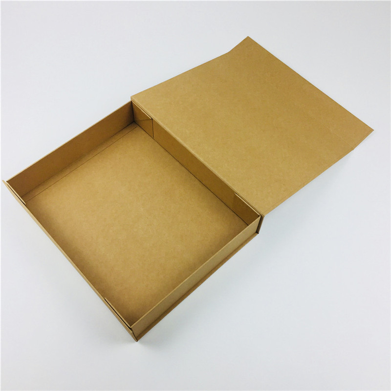 collapsible kraft box magnetic closure