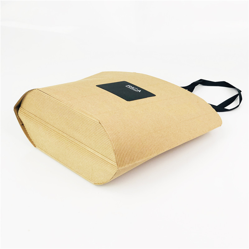 Deluxe Corrugated Paper Bags for Brand Clothing