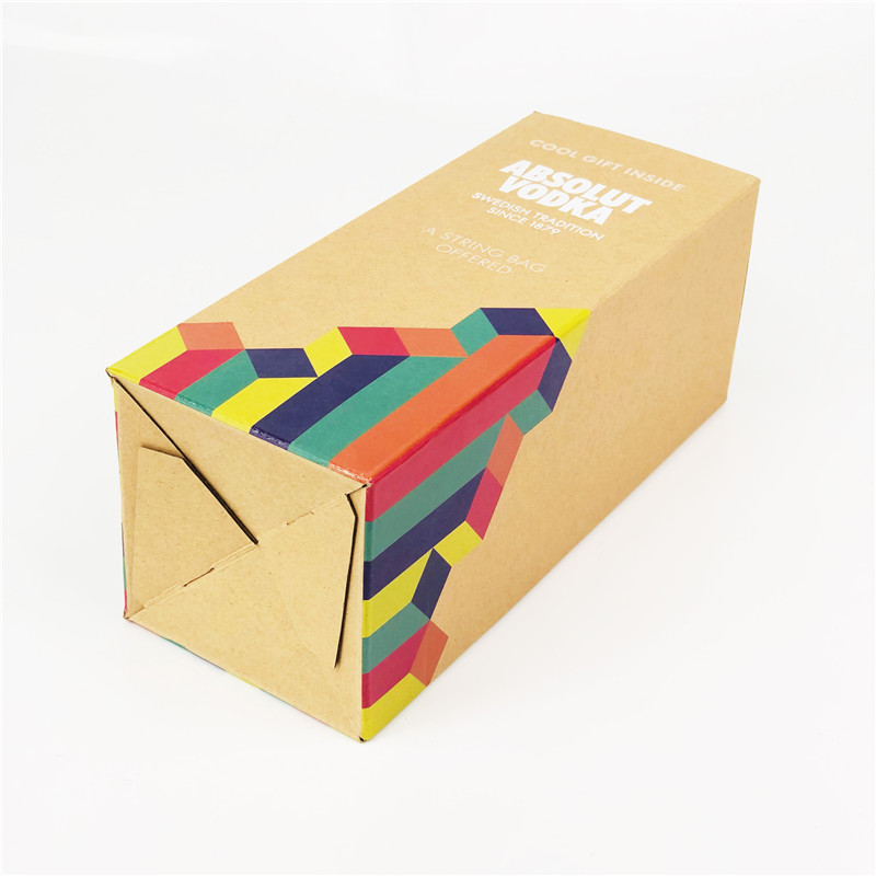 CMYK Printed F Flute Boxes