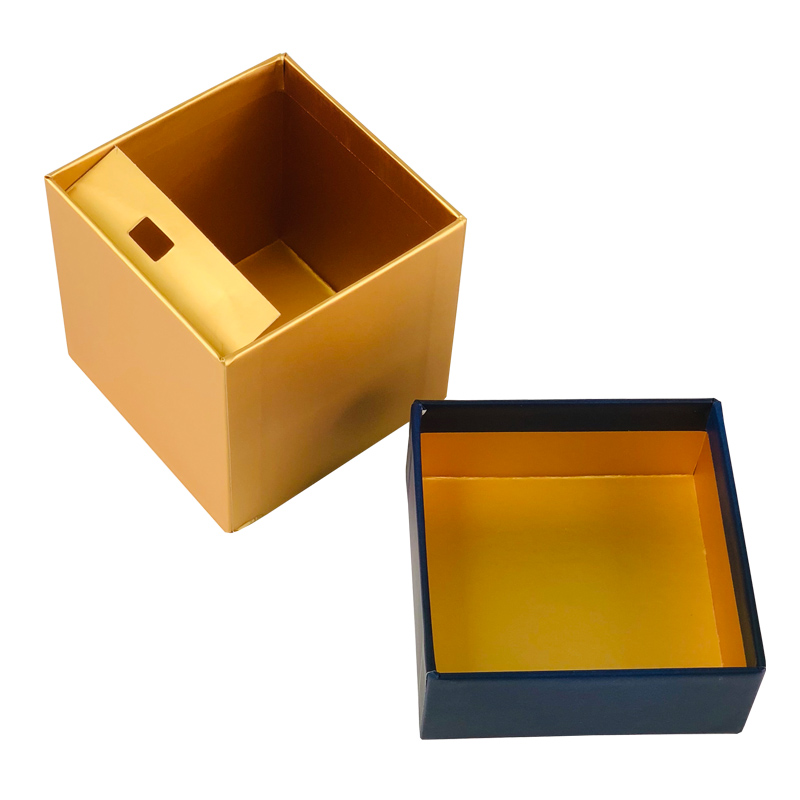 Gold Hot Foil Gift Boxes