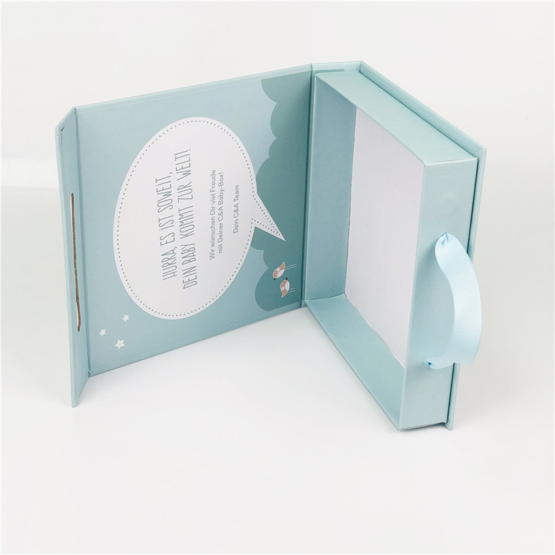 Foldable Clamshell Rigid Box