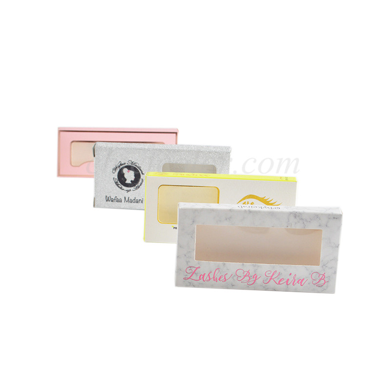 False Eyelash Boxes