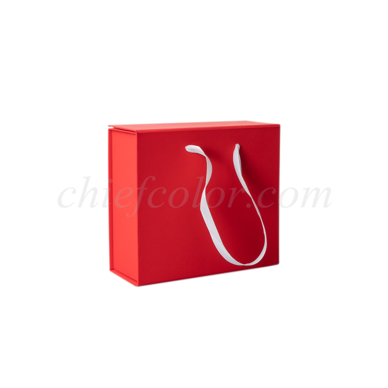 Foldable Gift Boxes with Ribbon