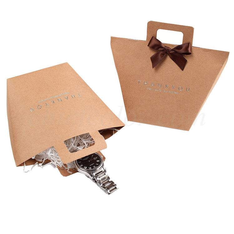 Natural Brown Kraft Paper Bags