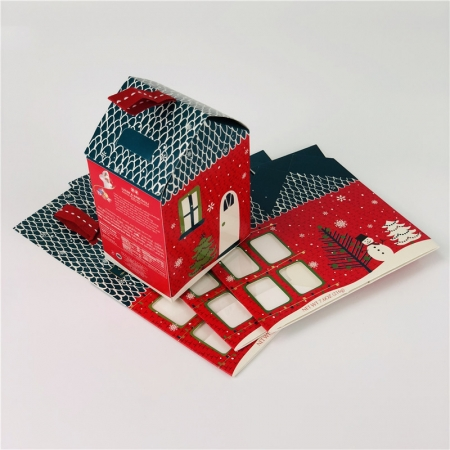 Custom House Shaped Folding Carton Boxes