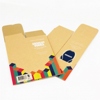 Printed F Flute Folding Boxes