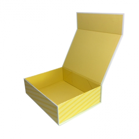 Yellow Collapsible E-Commerce Gift Box