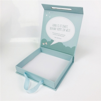 Hinged lid Rigid Paper Box