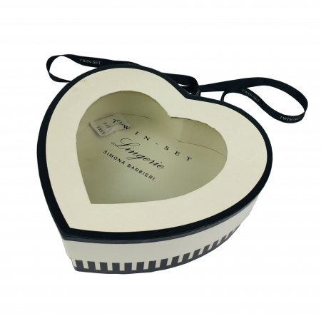 Heart Shape Gift Boxes With Display Window