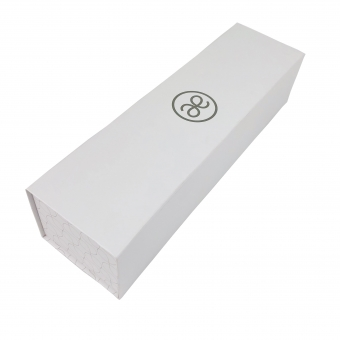 white foldable rigid boxes