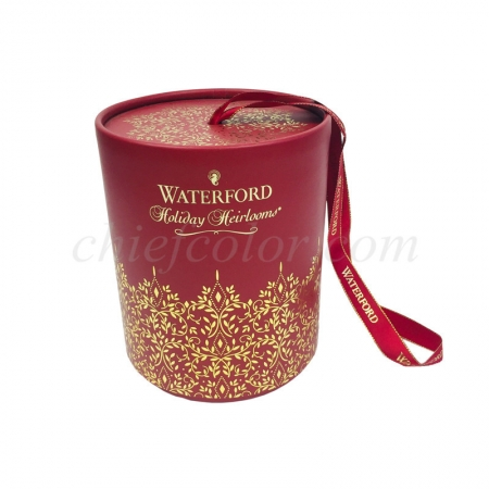 Holiday Heirlooms Custom Cylinder Box Christmas Packaging