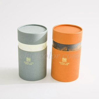 Custom Snap Lid Cardboard Tube Packaging