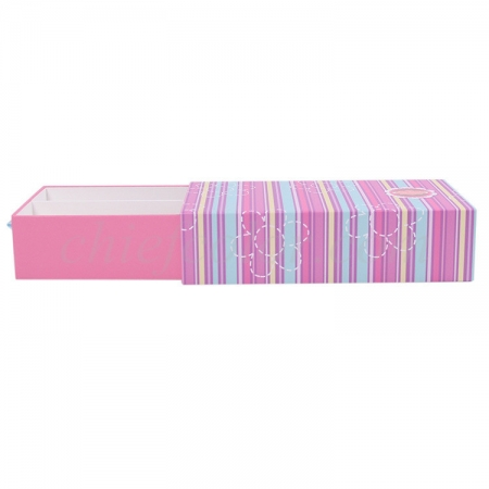 Handmade Drawer Box With Ribbon Puller