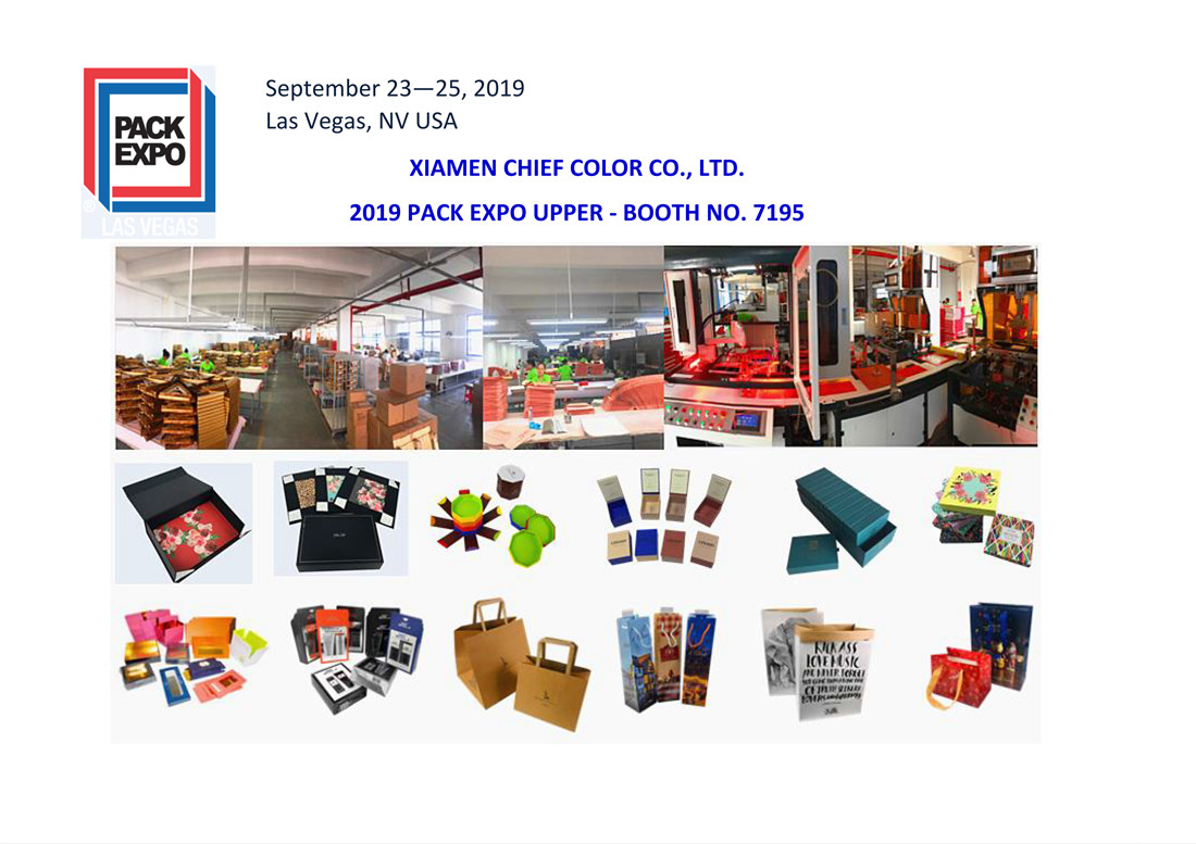Come Visit Chief Color's Booth No. 7195 at 2019 PACK EXPO Las Vegas
