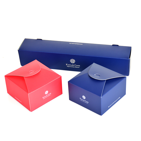 Snap Lock Bottom Folding Cake Boxes