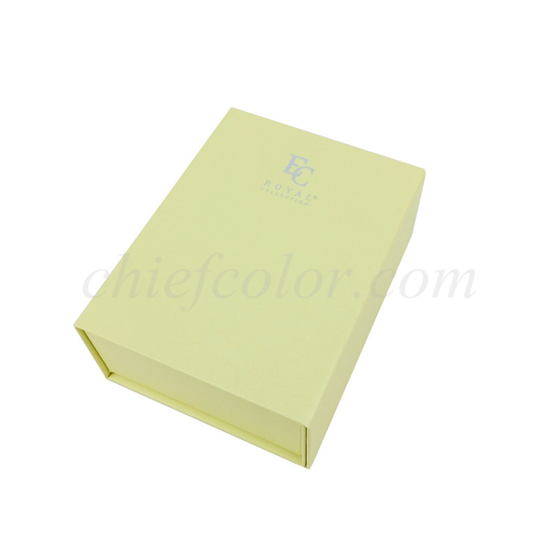 Personalized Book Shaped Gift Box with Spot UV