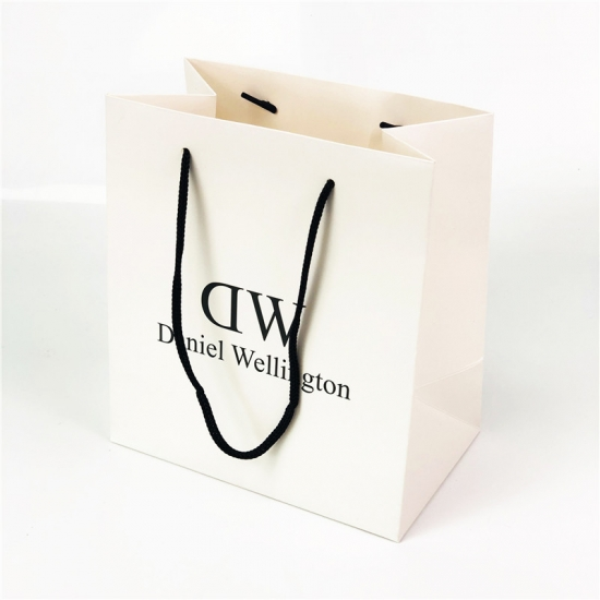 Custom Paper Bag With Plastic Barbs