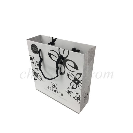 Deluxe Gift Bag With Black Handles