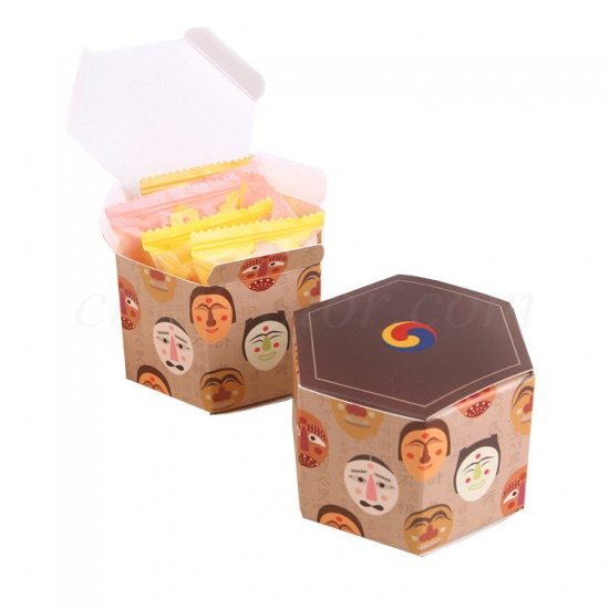 Folding Carton For Candy Gifts