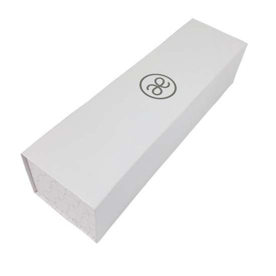 White Foldable Gift Box With Magnetic Lid