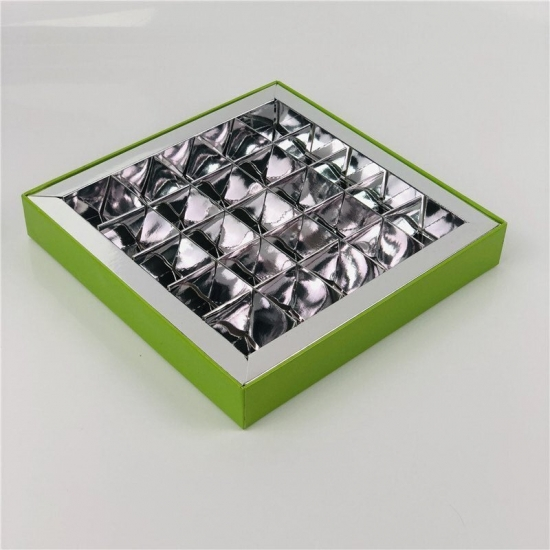 Rigid Chocolate Box With Clear Lid