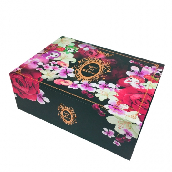 Luxury Paper Box With Black Foam Insert