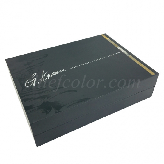 Gift Box For Wine Bottle And Glass