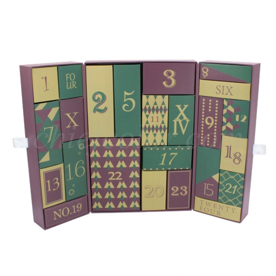 Custom Advent Calendar Boxes