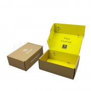 Inside Full Colour Printed Corrugated Cardboard Ecommerce Mailer Box