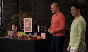 Our Tea Advent On BBC TV Show Dragons' Den