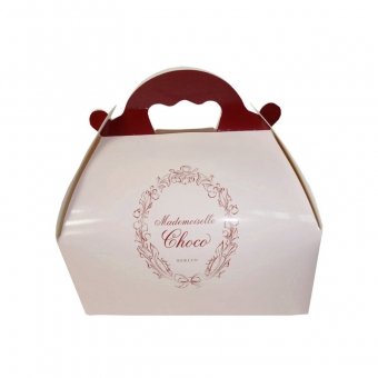 Custom Printed Square Gable Box Bakery Packaging