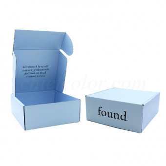 Printed Corrugated Cosmetic Box