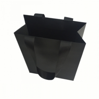 Black Luxury Kraft Paper Carrier Bags