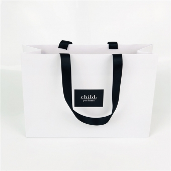 Custom Ribbon Handle Carrier Bags