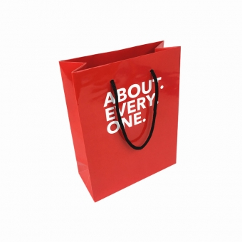 Printed Paper Carrier Bag With Handle