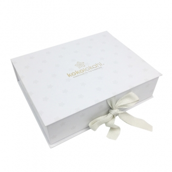 Printed Luxury Boxes With Cotton Ribbon