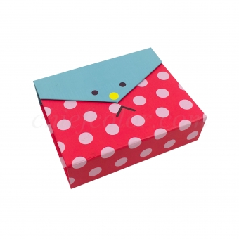Rigid Gift Box With Hinged Lid