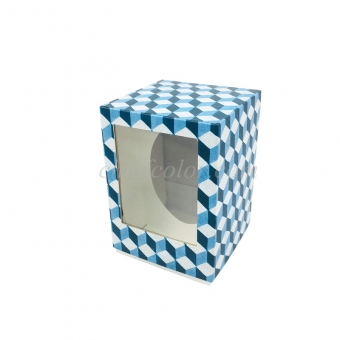 Laminated Easter Egg Box With PET Window