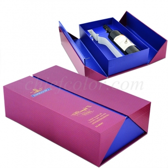 Printed Wine Gift Boxes With Insert